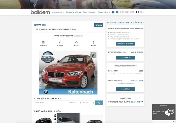 annonce.bmw.116i